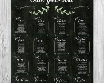 The 25 Best Wedding Table Ignments Ideas On Pinterest Seating Chart And