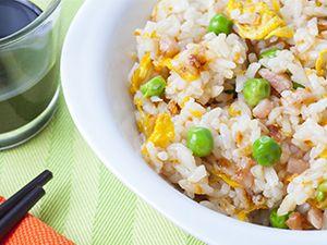Fondo de Pantalla de arroz frito tres delicias