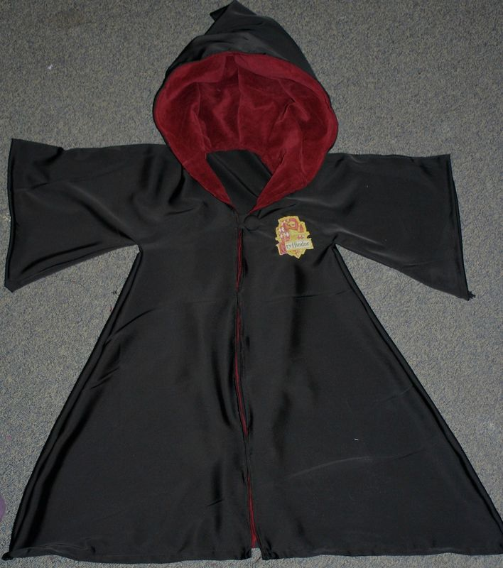 La robe de sorcier d'Harry Potter