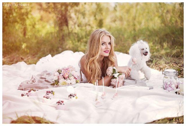 makijaż i fryzura oraz słodkości na wesele