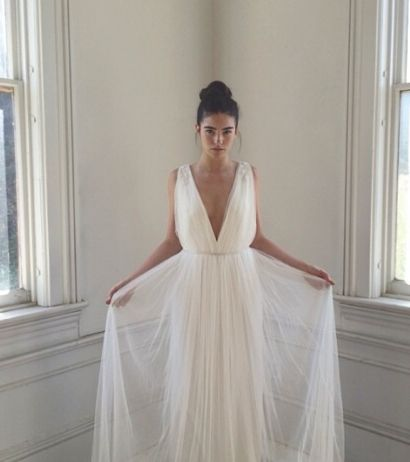 Photo of one of our gowns by Erich McVey.  Can't wait to debut this line in the next 2 weeks.  Stay tuned!