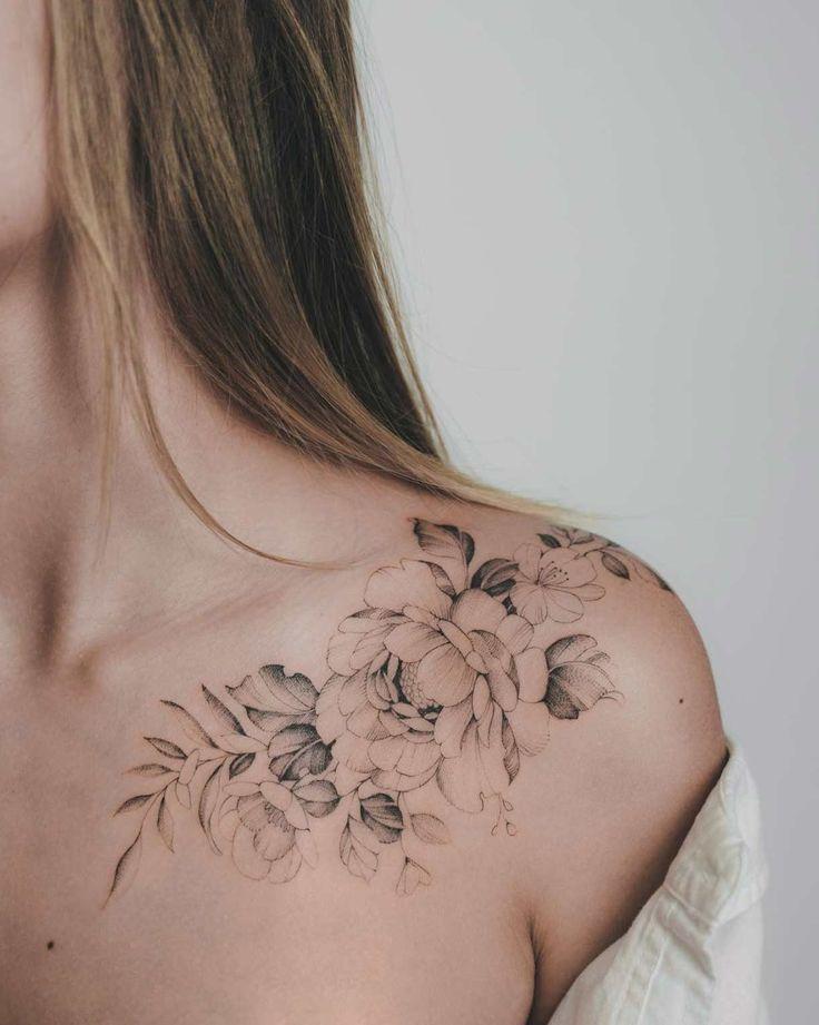 50 wunderschöne Tattoo Designs, die du unbedingt haben möchtest – TattooBlend #tattoos   – Flower Tattoo Designs