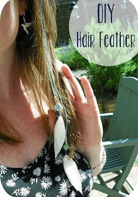 Emily Summers Design and Nonsense: DIY Boho Hair Feather
