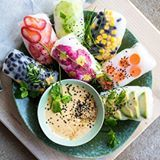These rice paper rolls from @oatmealstories look INSANE!! What's your pick? #repost #SeriouslyYummyEats •• #ricepaper #ricepaperrolls #veganrolls #vegan #veganrecipes #followoftheday #vegansofig #foodgawker #huffposttaste #thehealthfoodedition #healthyfoodshare #buzzfeedhealth #instayum #feastgram #bonappetitmag #gloobyfood #hautecuisines #foodandwine #beautifulcuisines #tastingtables #thekitchn #onthetable #foodblog #feedfeed #foods4thoughts