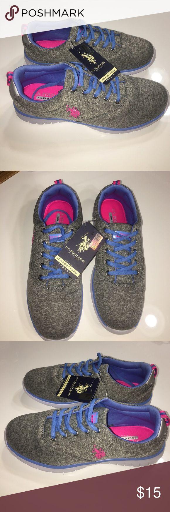 New U.S. Polo Assn. memory foam sneakers  sz 7.5 New U.S. Polo Assn.. memory foam sneakers tennis shoes sz 7.5 final sale price listed please no offers U.S. Polo Assn. Shoes Sneakers