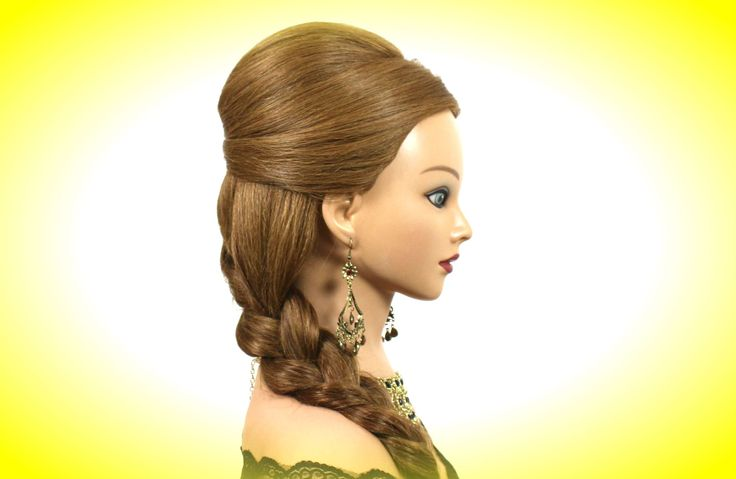 Wedding prom hairstyles for long medium hair.