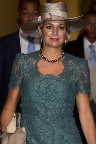 Queen Máxima, Sep 25, 2016 in Hoedenhuis Kaptein | Royal Hats
