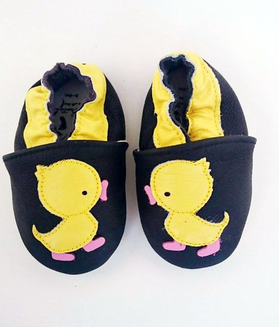 Because there only $11.95. Why not?  https://www.etsy.com/ca/listing/263716043/baby-yellow-duck-leather-moccasins-soft