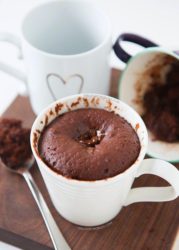 Svampet chokoladekage i en kop :-) - http://www.mytaste.dk/o/svampet-chokoladekage-i-en-kop---19403619.html