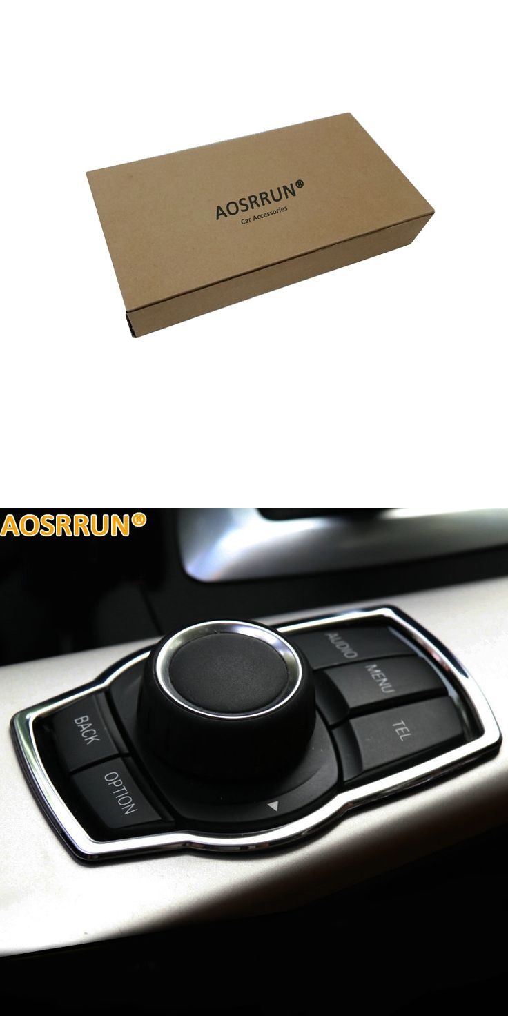 AOSRRUN Multimedia adjusting knob cover Car Accessories Products For BMW BMW F20 118i 120i 135i 116i 2014 2015 2016
