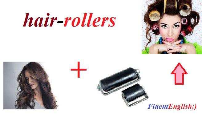 hair + rollers = hair-rollers ! (бигуди)  #английскийслова #английскийонлайн #английский #учитьанглийский #английскийрепетиторы #английскийкурсы #английскийскайп #englishskype