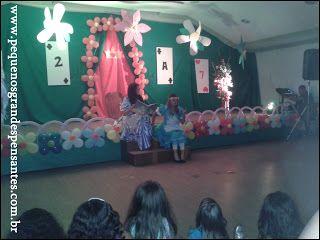 Pequenos Grandes Pensantes.: Teatro: Sonho de Alice - Grupo Privê Diversão…