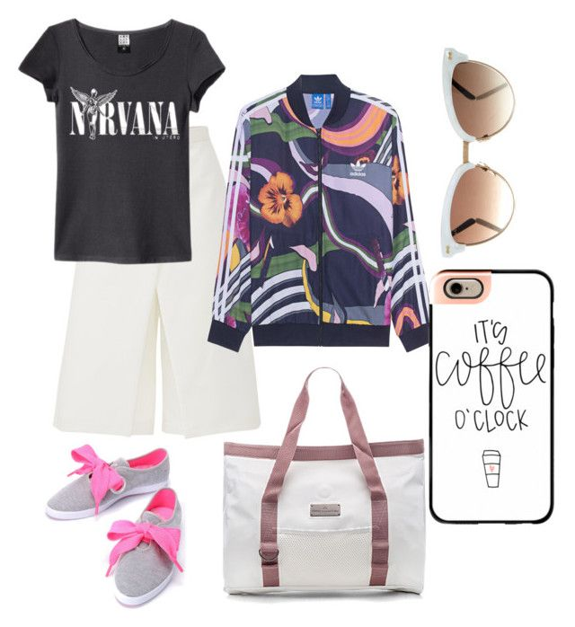 """""""Untitled #106"""" by nenglita on Polyvore featuring adidas, TIBI, adidas Originals, Gucci and Casetify"""