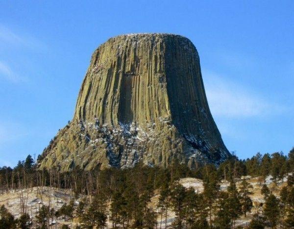 Torre del Diablo (EEUU). Paisajes más impresionantes del planeta