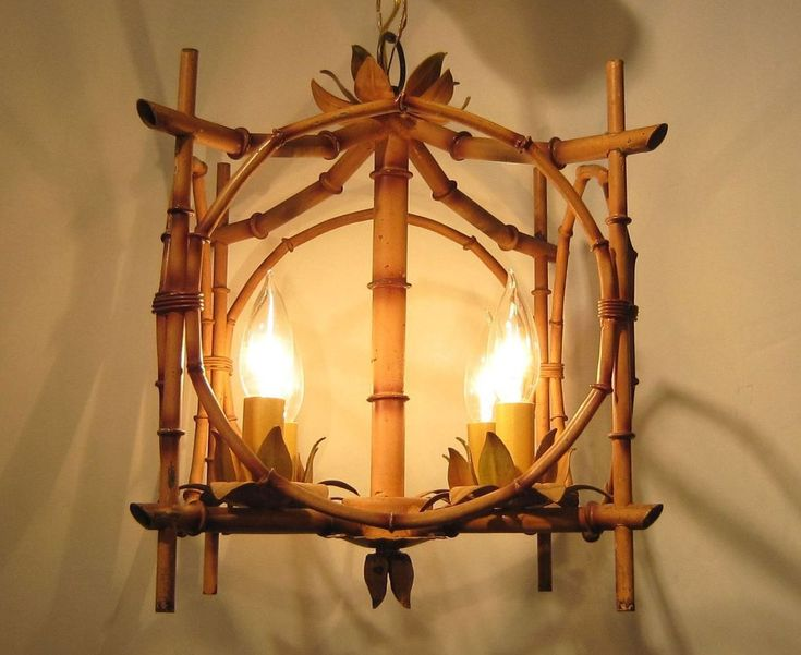 Favorite Bamboo Lighting Fixtures. What A Great Bamboo Lamp! Lighting  NM78