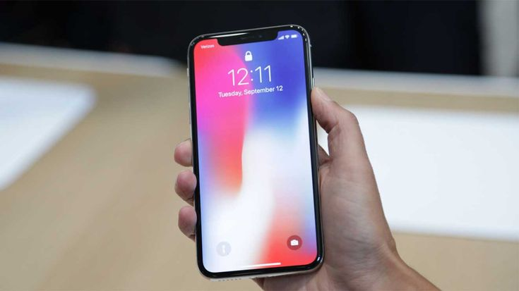 Apple hides the notches of iPhone X