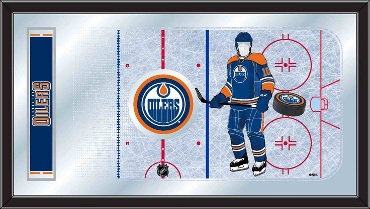 Rink Mirror - Edmonton Oilers