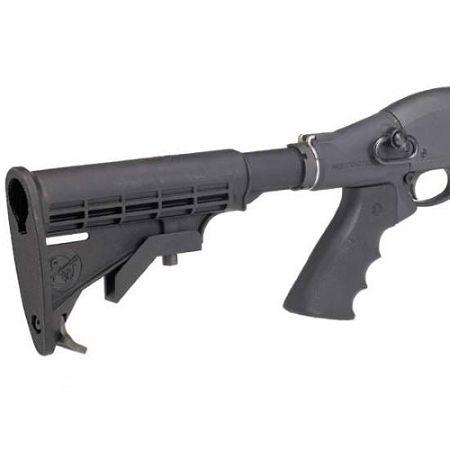 Mesa Tactical 93220 LEO Telescoping Recoil Stock Kit - Mossberg 500/590/590A1/Maverick 88
