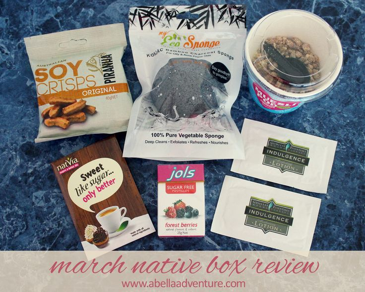 Native Box Classic Box March 2015 Review (includes discount code for $5 off your first box) | @nativeboxau | A Bella Adventure |  http://www.abellaadventure.com/lifestyle/march-native-box-review/