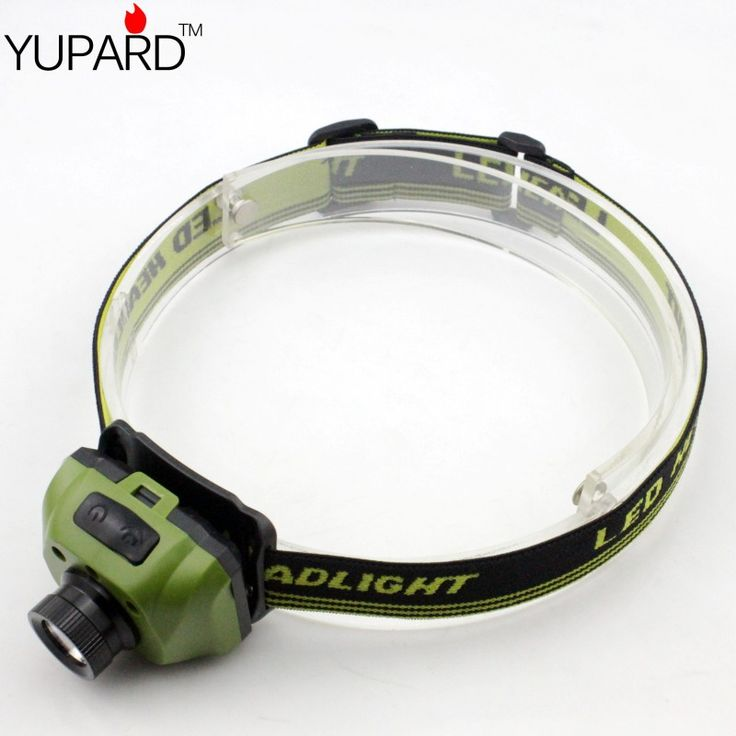 YUPARD Samsung LED Lamp Induction inductive Headlight camping lantern fishing Flashlight headlamp torch camping 3* AAA Battery