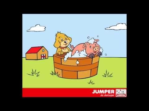 Kinderliedjes Jumper De diersuper - Kinderliedje Vies klein varkentje