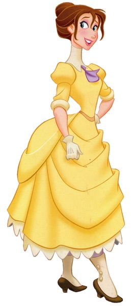 Jane Porter is the deuteragonist of Disney's 1999 film Tarzan. She is an artistic animal researcher and the eventual love interest of Tarzan. Jane is an intelligent and beautiful young woman. She is shown to be somewhat talkative, yet charming as well as proper. Jane is also shown to have a love for art, and she is not afraid to venture into the jungle to draw the wildlife.