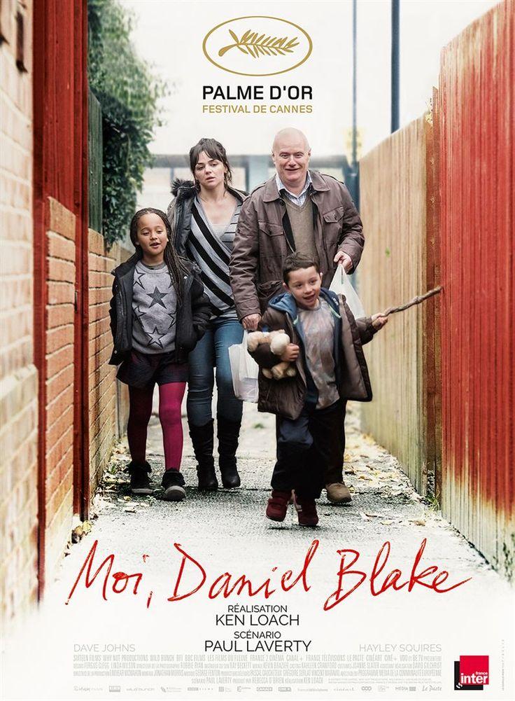 """FAISONS TOUS DES RÉCLAMATIONS DANS NOS CINÉMAS !  """"Moi, Daniel Blake"""". Ken Loach reçoit sa 2ème palme d'or à Cannes, ce qui est très rare. Malgré cela, autour de Bordeaux, seuls 3 cinémas le programment la semaine de sa sortie ! Écœurant !"""