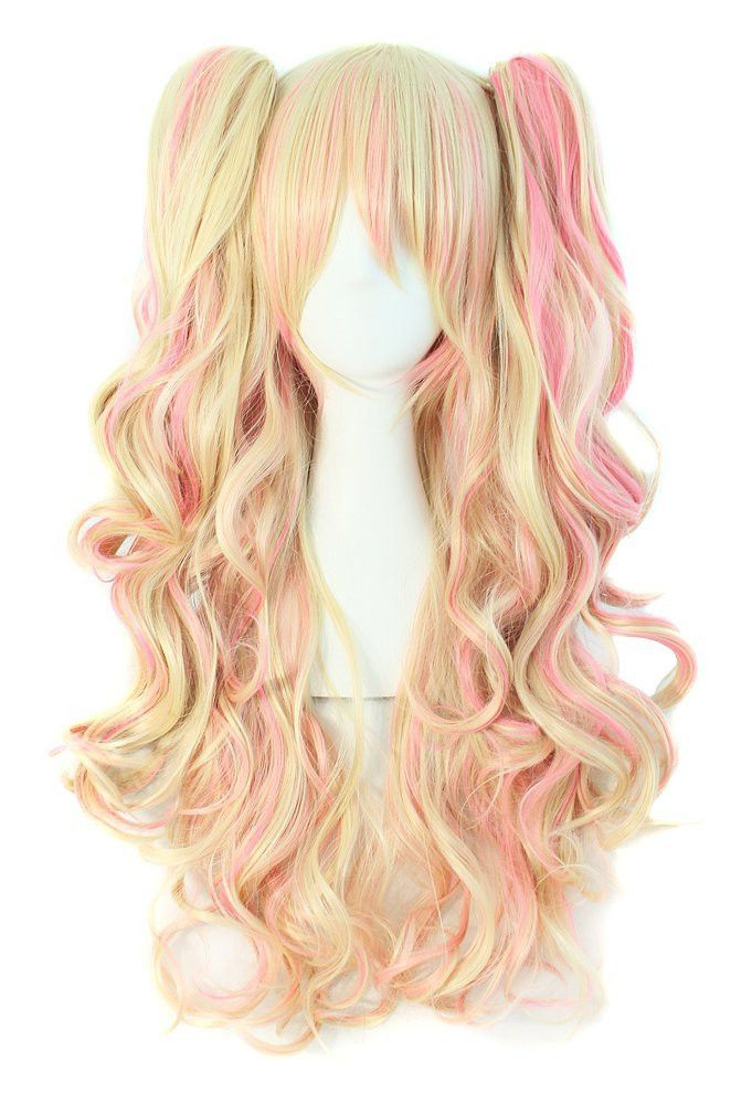 - Quality Cosplay Wig - Material : 100% Top Kanekalon Fiber - Adjustable Monofilament Net - One size Fits All - Length: approx 26