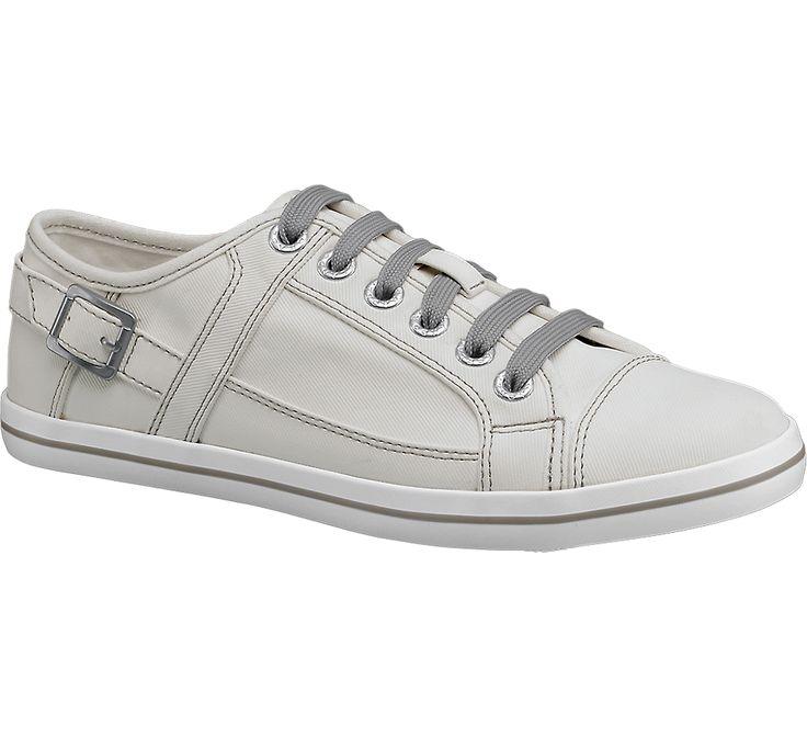 Graceland Witte sneaker siergesp