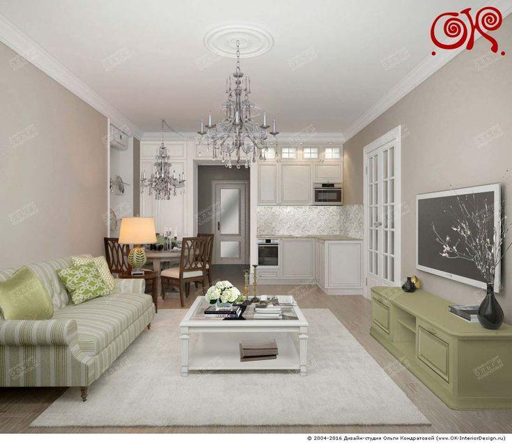 Дизайн кухни-гостиной со столовой: фото