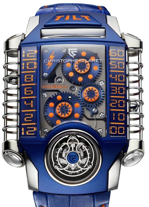 Only Watch 2013 Auction: Full List Of Piece Unique Watches   Christopher Claret Xtreme Pinball