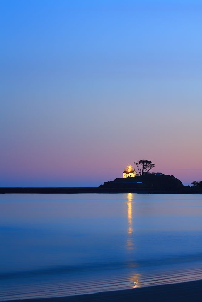 http://annemckinnell.com/blog/  Crescent City, California, Battery Point Lighthouse.