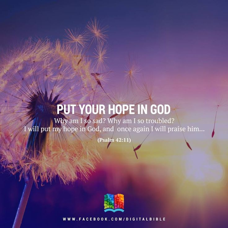 17 Best images about Inspiration (God, Bible) on Pinterest ... Put Your Hope In God