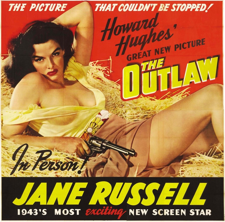 The Outlaw (1943) - US Six Sheet