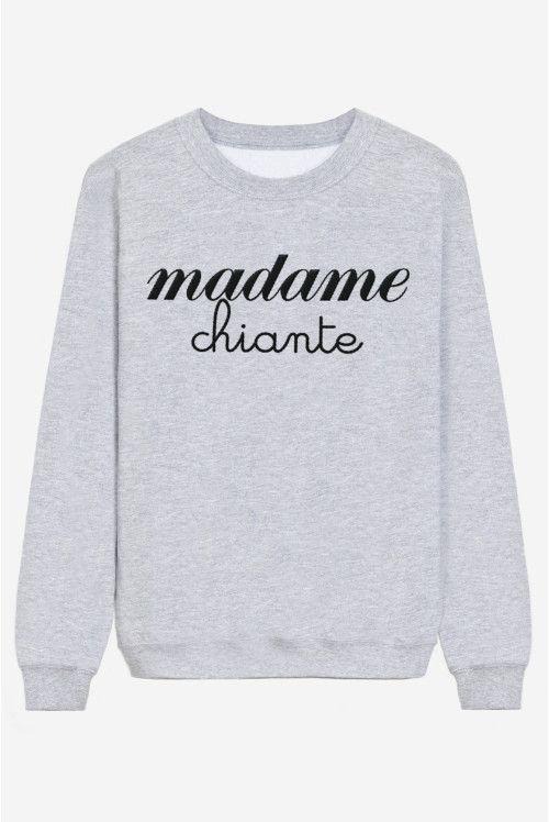 Madame Chiante - brodé