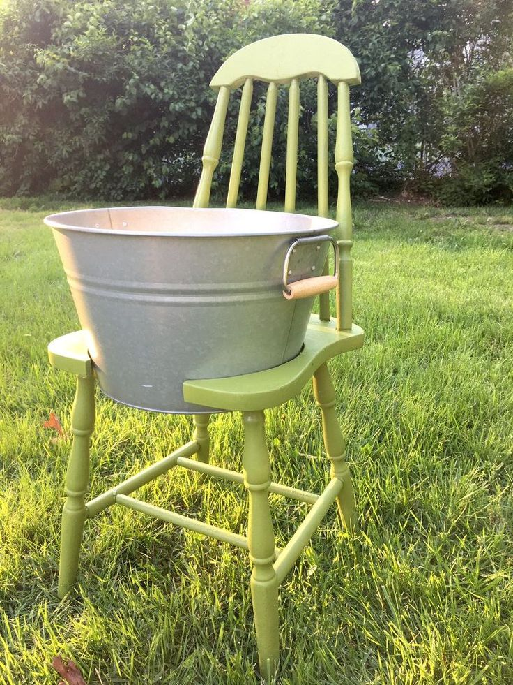 Use a Broken Chair to Make Your Outdoors Even Cooler