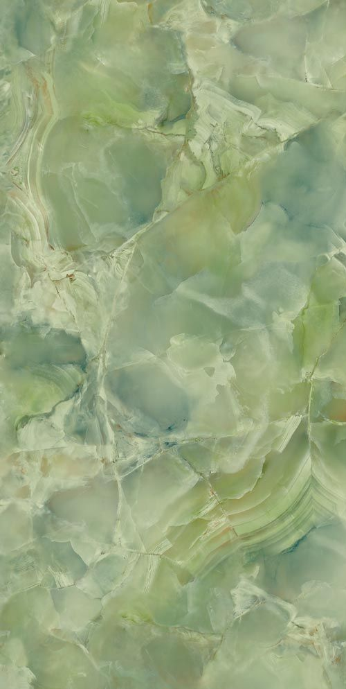 Porcelain Tile: Green marble: Precious stones  wouldn't this look amazing on the back wall?