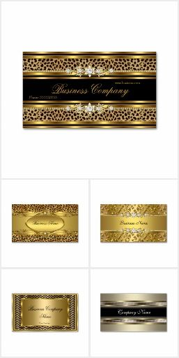Business Cards Elegant Professional Modern Stylish