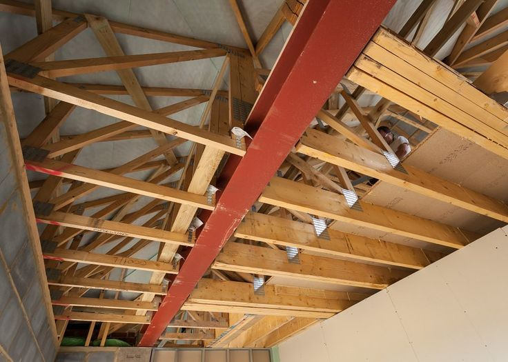 Best 25 attic truss ideas on pinterest garage plans for Bonus room truss design