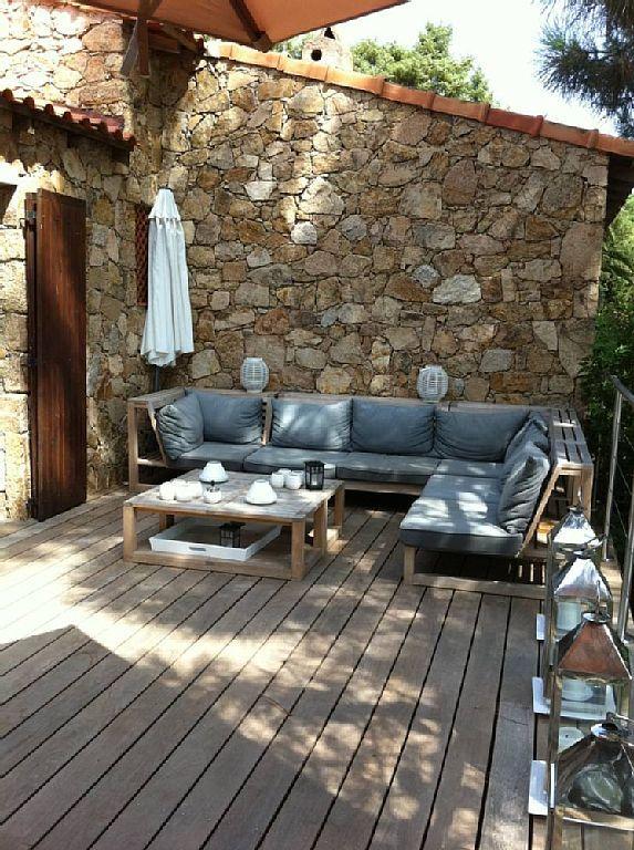 in Lecci: 2 Schlafzimmer, für bis zu 4 Personen. Lecci: Ferienhaus / Villa - Lecci | FeWo-direkt
