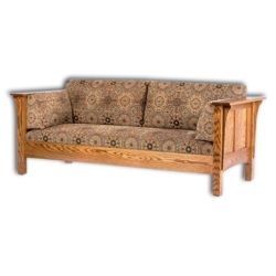1675 Shaker Hi-back Panel Sofa