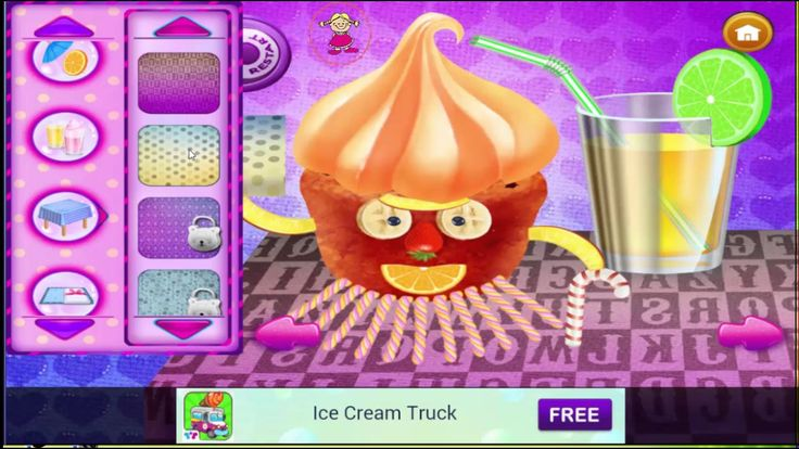Cupcake Maker Game for Kids and Toddler