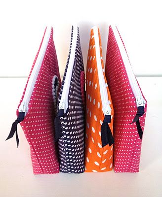 """""""P"""" is for Polka Dots - Pouch Tutorial"""