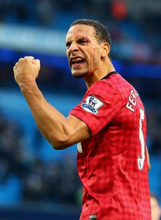 Rio Ferdinand (Inglaterra) - West Ham United / Leeds United / Manchester United Rio took ballet lessons as a child.