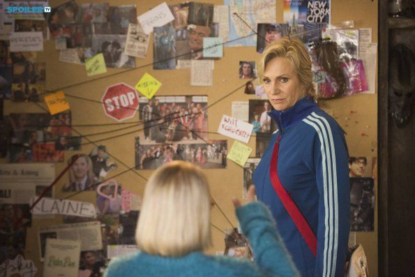 """#Glee 6x05 """"The Hurt Locker, Part two"""" - Sue and Becky  plan against the Glee club."""
