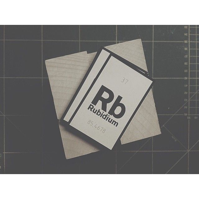 /Rubidium/ Business card design