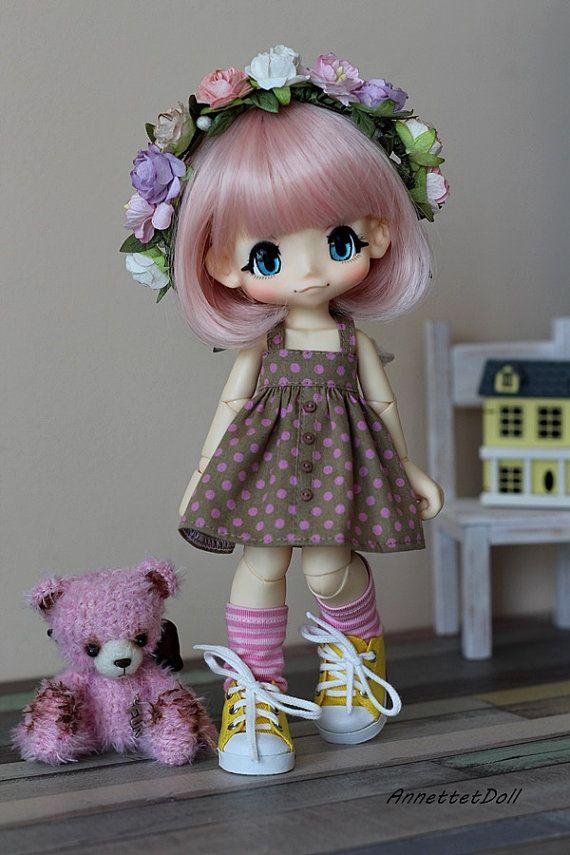 Dress for KikiPop, Kinoko Juice dolls 15-a09