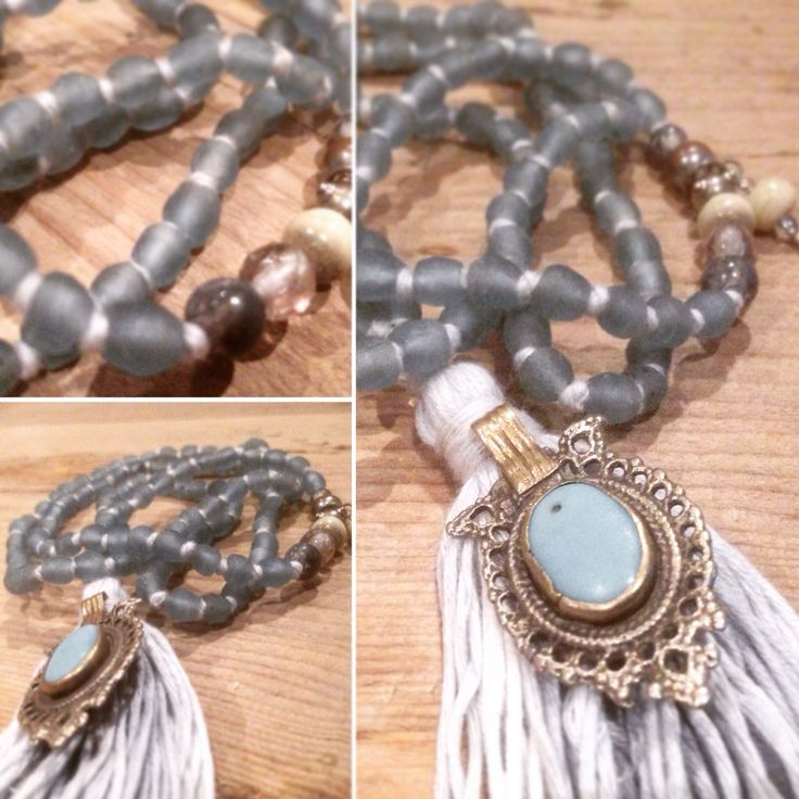"""Sustainable & ethical mala necklace """"Shine"""" handmade with love & intention in Norway by Shinseina Jewellery x"""