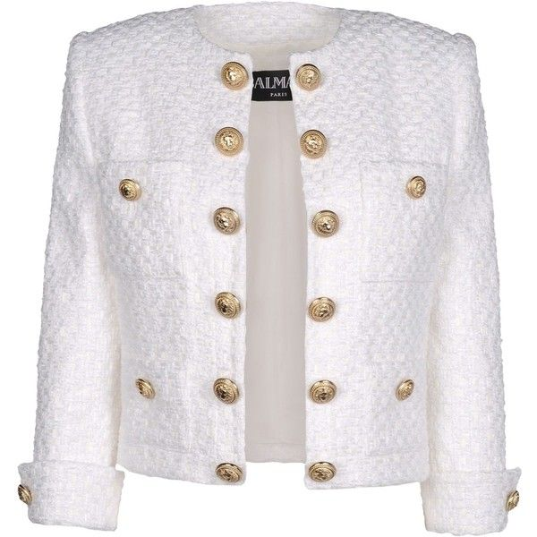 Balmain Blazer found on Polyvore