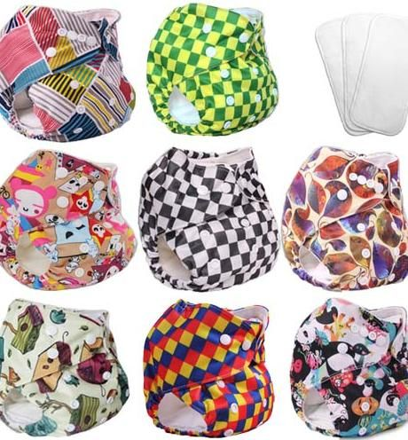 cloth snap diapers